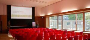 Medientechnik im Hörsaal.