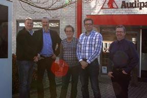 Die PCS Geschäftsführer bei Audipack