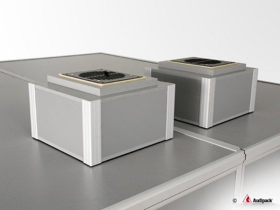 Audipack-Doplmetscherkabine-Ventilator