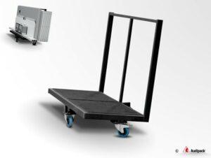 Audipack-Transportwagen-Doplmetscherkabine