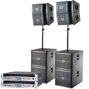 JBL Lautsprecher Line Array VRX-Systeme