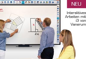 Vanerum i3 interaktives Whiteboard