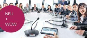 Diskussionsanlage Bosch CCSD im Einsatz