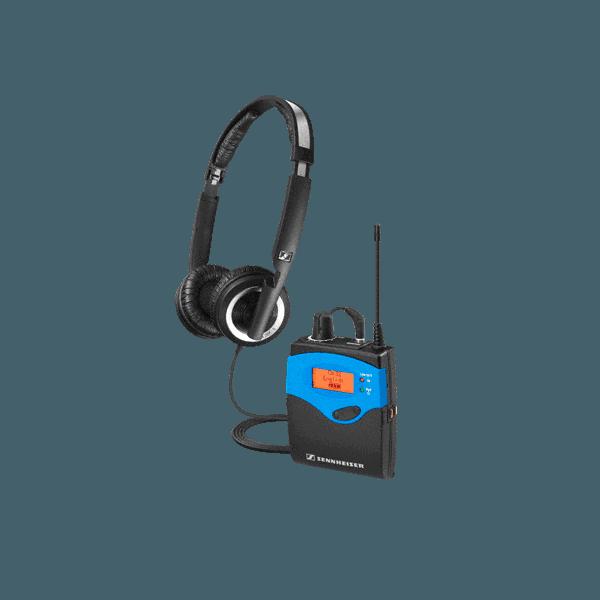Sennheiser EK 1039 mit Kopfhörer