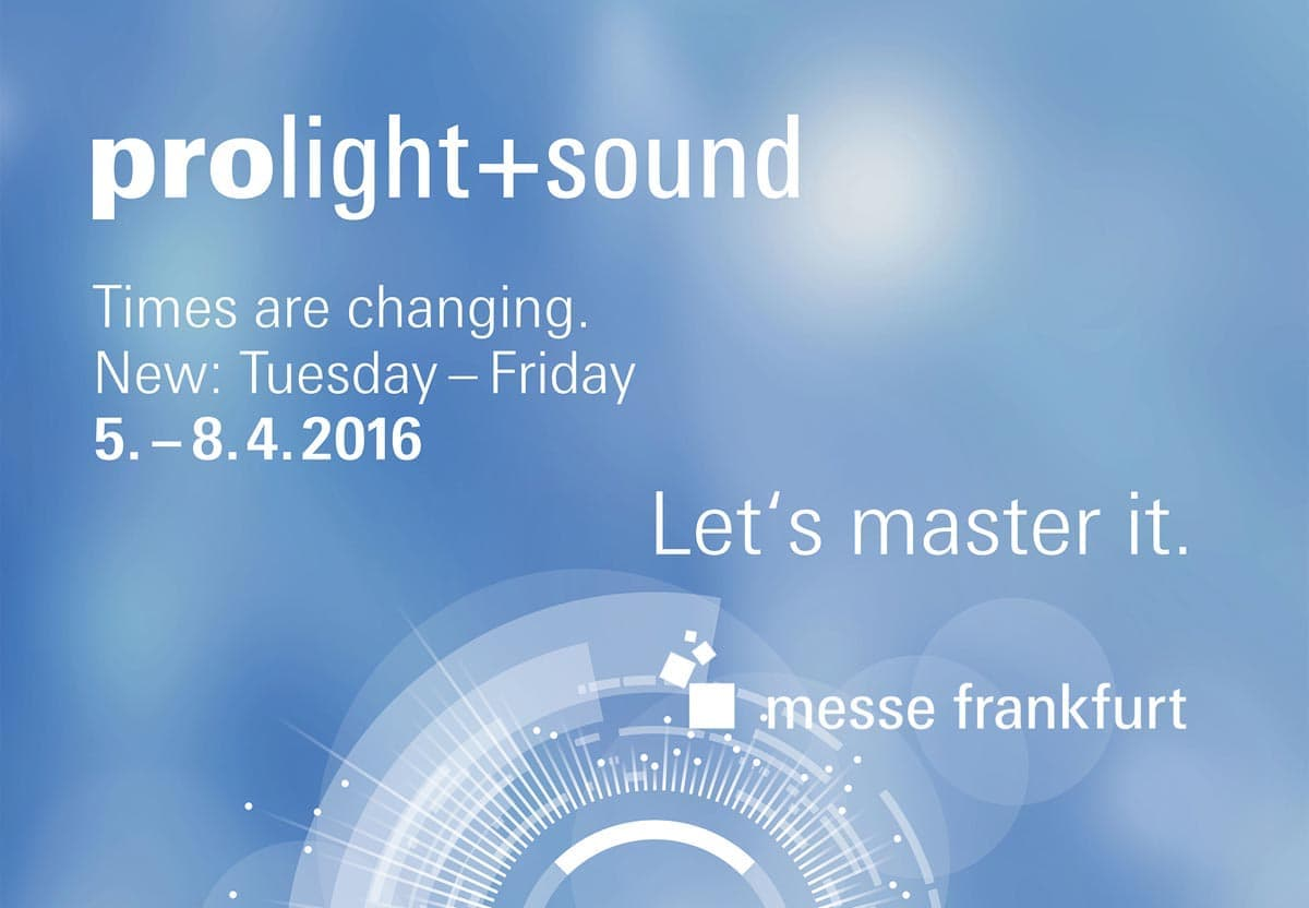 Prolight & Sound 2016 PCS GmbH