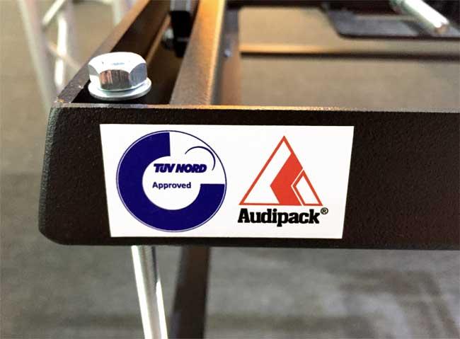 Audipack TÜV Approved