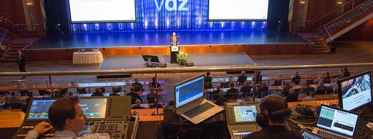 Konferenztechnik leihen Nürnberg bei der PCS GmbH