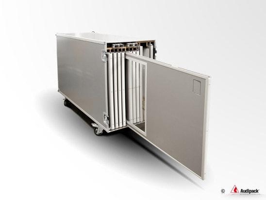 Audipack Flightcase für Dolmetscherkabinen