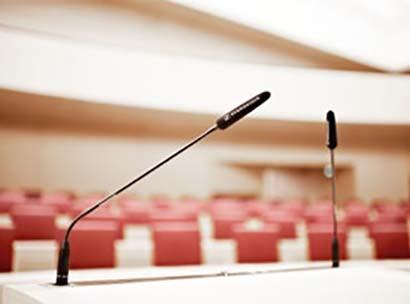 Audiotechnik mieten - PCS Konferenztechnik