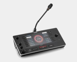 Bosch Dicentis IDESK mit Mikrofon