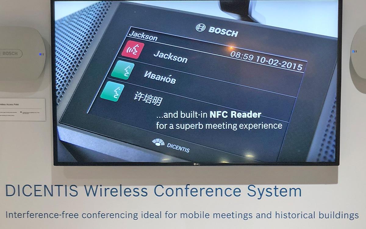 Bosch Dicentis NFCreader
