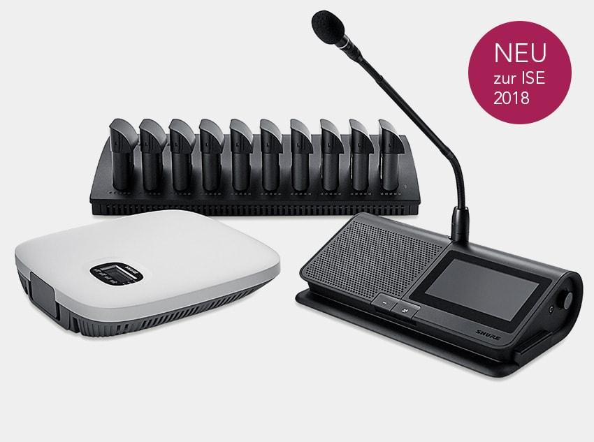 Shure Microflex Konferenzanlage