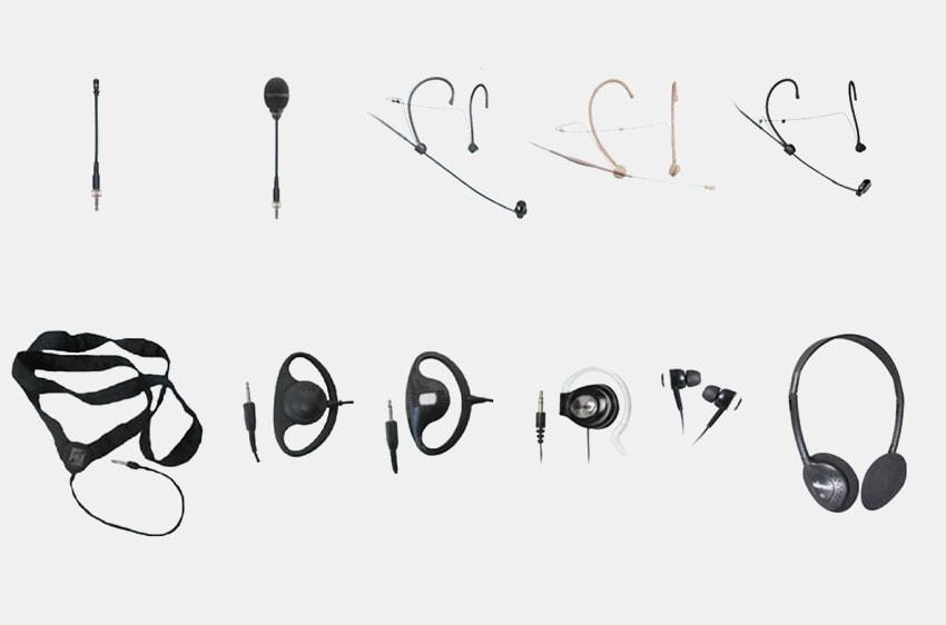 Mipro Mikrofone Kopfhörer Zubehör