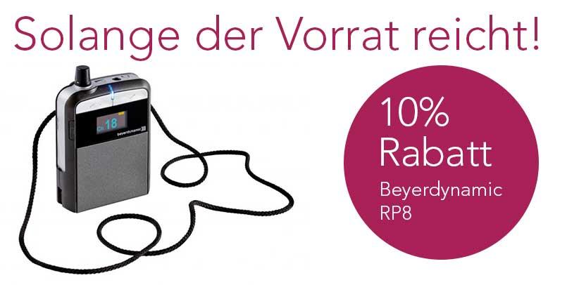Beyerdynamic RP8 Funkempfaenger Rabatt