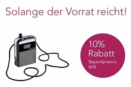 Beyerdynamic RP8 Rabatt