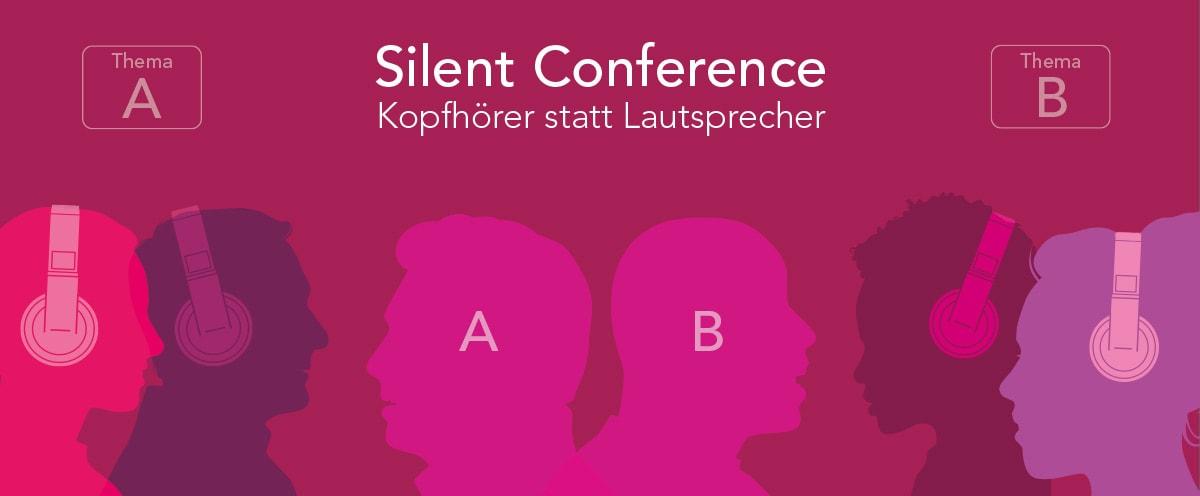 Silent Conference Kopfhörer mieten