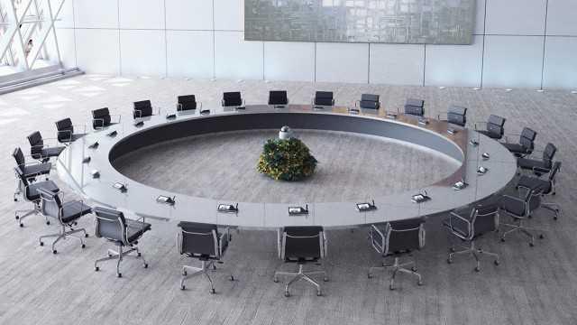 Videokonferenz mit DOME-Kamera und Sprechstellen