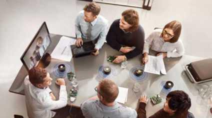 Vermietung von Konferenztechnik: Videokonferenztechnik mieten