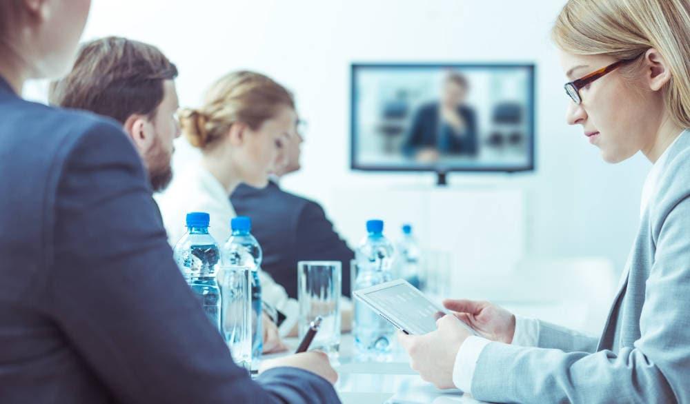 Videokonferenz Technik mieten bei PCS