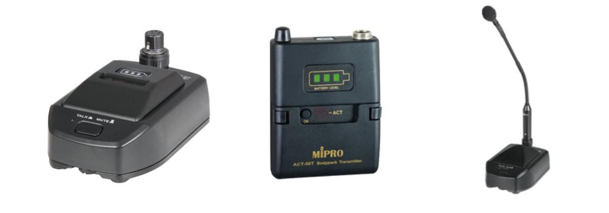 Drahtlose Konferenzsysteme kaufen: Mipro Conference Mics kaufen