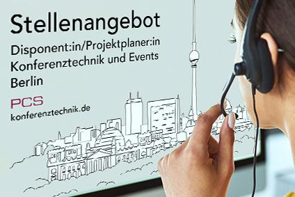 Jobangebot: Disponent:in/Projektplaner:in gesucht PCS Berlin