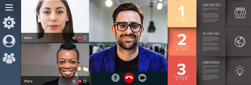 Professionelle Zoom-Konferenzen und Videokonferenzen