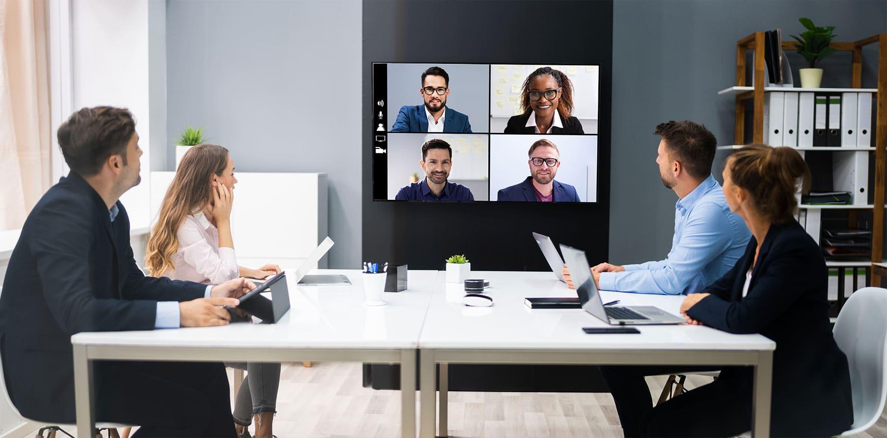 Konferenzraum Intergration Videokonferenz